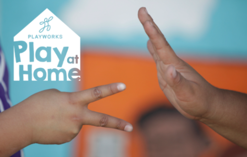 Logo for Playworks: Play at Home